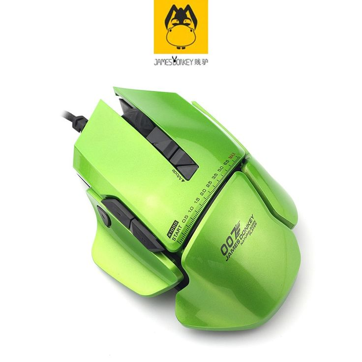 92.80$  Watch here - http://alifqy.shopchina.info/go.php?t=32700861853 - Green James Donkey 007 Multi-function Computer USB Wired Length 1.8M Mechanical FC Big Mouse Laptop Game LOL Custom Smart Mice 92.80$ #buymethat