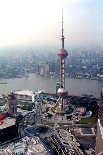 Oriental TV Pearl Tower, Shanghai