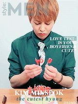 EXO ALIVE MAGAZINE COVERS style: men (Xiumin)