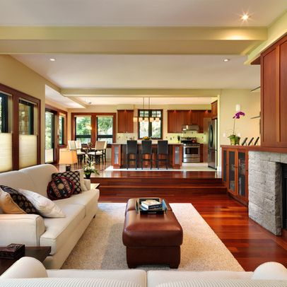 Sunken Living Room Design Ideas, Pictures, Remodel, and Decor - page 2