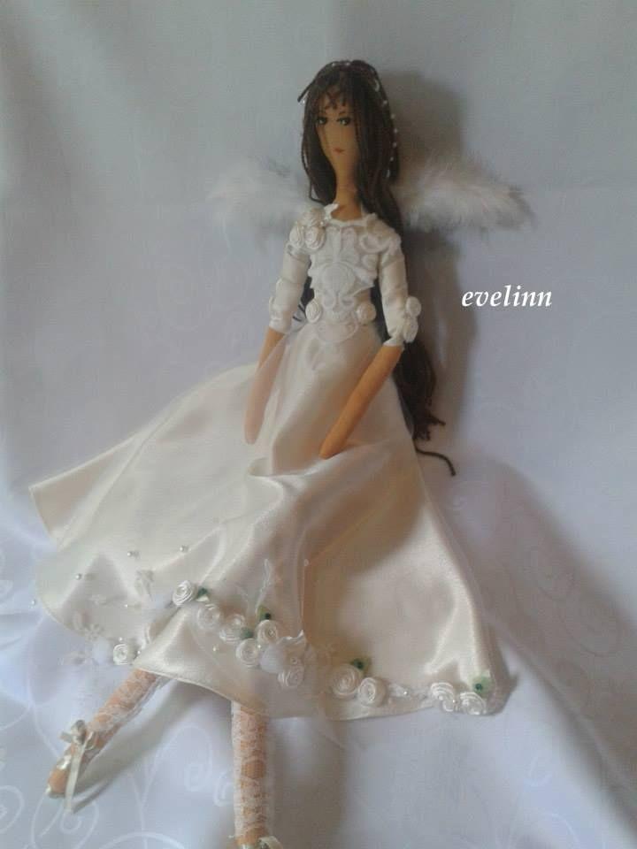 aniołek na chrzściny