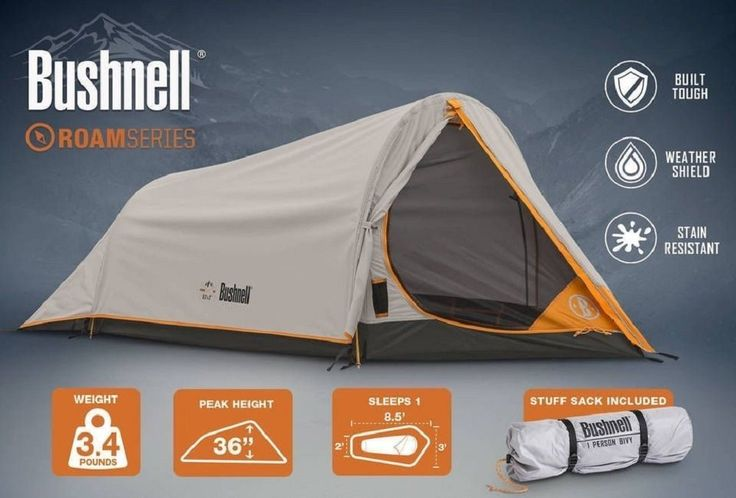 Outdoor 8.5' X 3 Backpack Camping 1 Person Portable Hiking Tent - Weatherproof Mountaineering Rainfly Shelter * You can get additional details, click the image : Hiking tents
