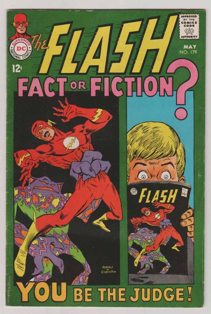 Flash; Vol 1, 179, Silver Age Comic Book.  FN/VF (7.0). May 1968.  DC Comics #flash #silveragecomics #comicsforsale