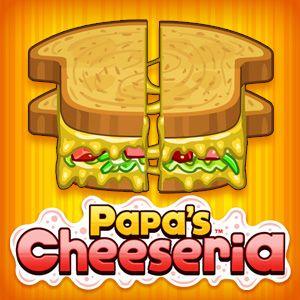 Papa's Cheeseria - Really fun, prepare food for customer correctly and earn money!!