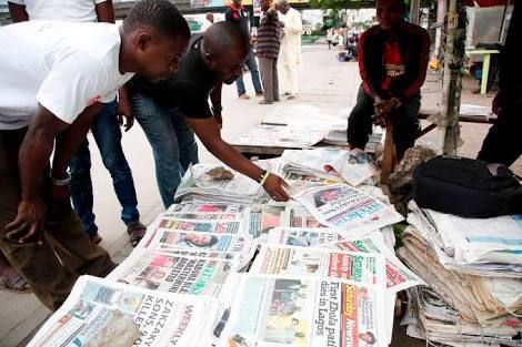 Latest Nigerian newspapers review for today 25th September 2016