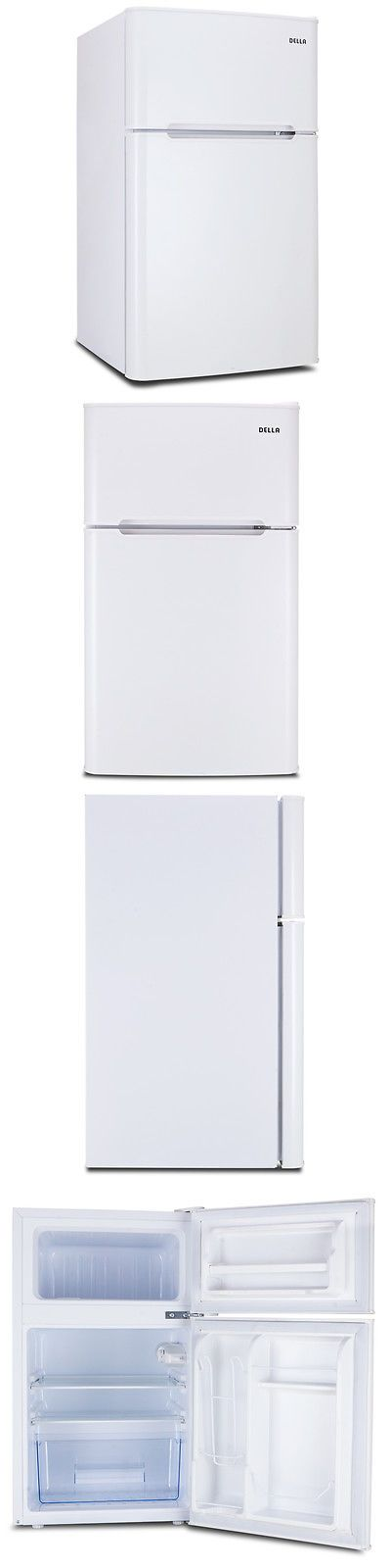 Major Appliances: 3.2 Cu Ft Mini Refrigerator And Freezer Small Compact Dorm Office Fridge White -> BUY IT NOW ONLY: $139.97 on eBay!