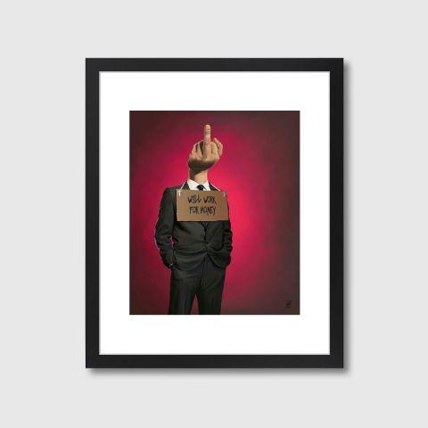 Unicorn | Monde Mosaic art | decor | wall art | inspiration | caricatures | home decor | idea | humor | gifts