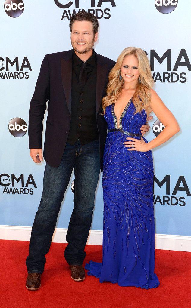 Love that dress too!! Blake Shelton  Miranda Lambert from 2013 CMA Awards