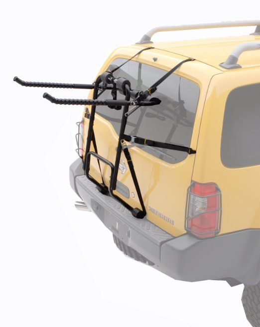 Hollywood Racks F4 heavy duty 4-bike trunk mount rack  #car #bike #carriers #rack #mount #bicyclecarrier #bicycleracks