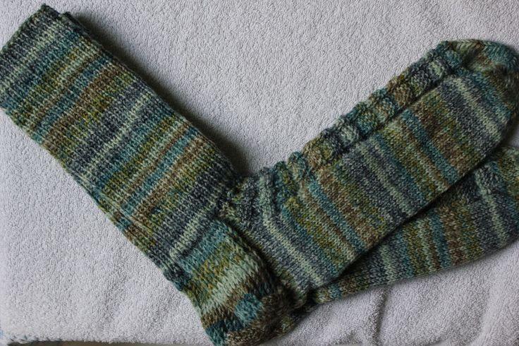 Weiteres - Handgestrickte Socken Gr. 44/45 Strukturmuster - ein Designerstück von bastelmaus19 bei DaWanda