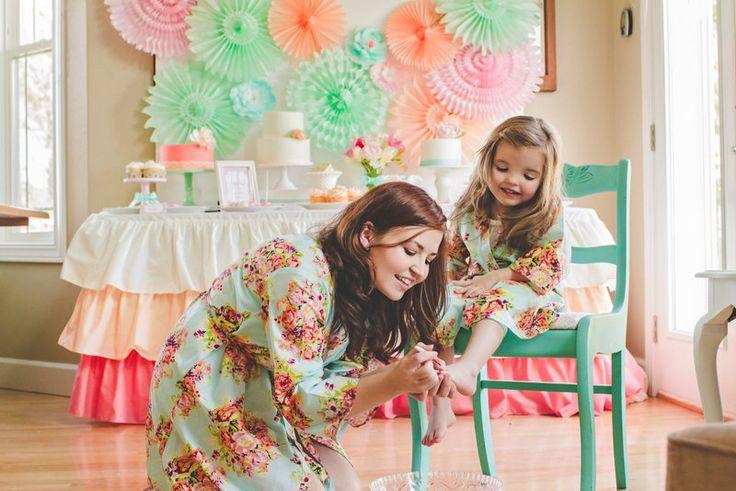 Mami que bata Kimono Crossover trajes del bebé por silkandmore