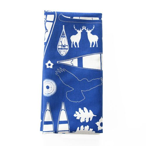 NAPANEE NAPKINS Inspired by Canadiana images. What a great hostess gift.