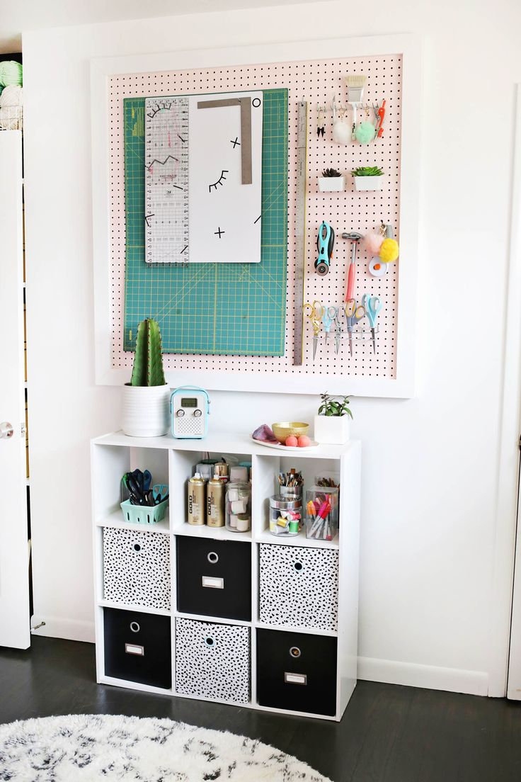 office craft room. Laura\u0027s Craft Room (Before + After Office