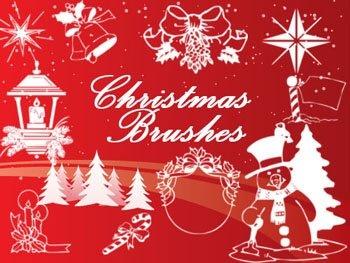 285 pinceles navideños para PS