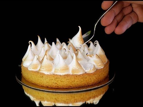 Merengue suizo perfecto para decorar, hornear, y rellenar pasteles - YouTube