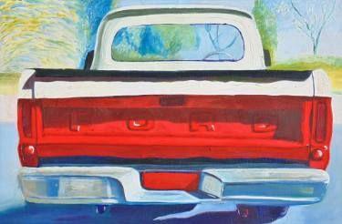 "Saatchi Art Artist SHAUN STAPLETON; Painting, ""1965 FORD F100"" #art"