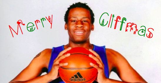 Merry Cliffmas from your favorite 2014-15 Jayhawk recruit!