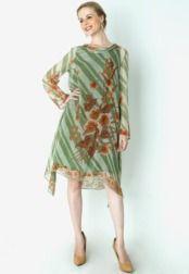 Danar Hadi  Dress Batik Bunga