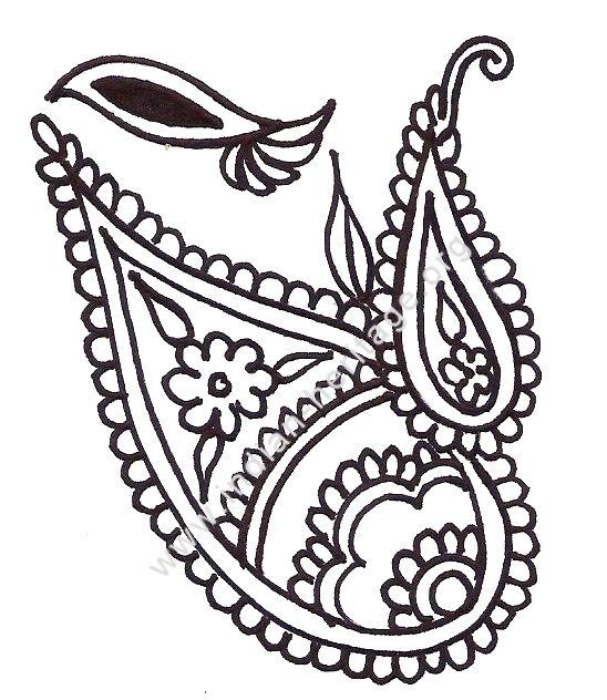 Paisley Designs On Pinterest