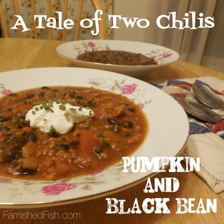 Pumpkin Black Bean Chili with Turkey AND Baked Pumpkin Black Beans ...