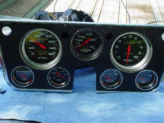 Complete Wiring Diagram 1966 Mustang This Is My Personal Autometer Instrument Cluster For 67 72
