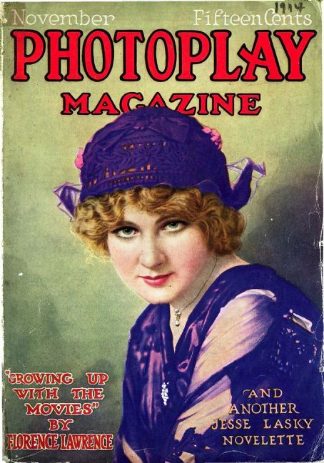 Florence Lawrence - Photoplay Magazine [United States] (November 1914)
