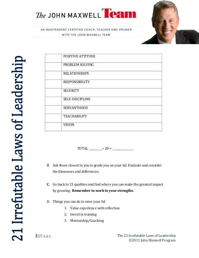 laws worksheet laws 1 2 3 blank positive attitude activities ...