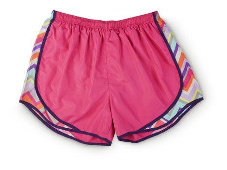 chevron nike running shorts