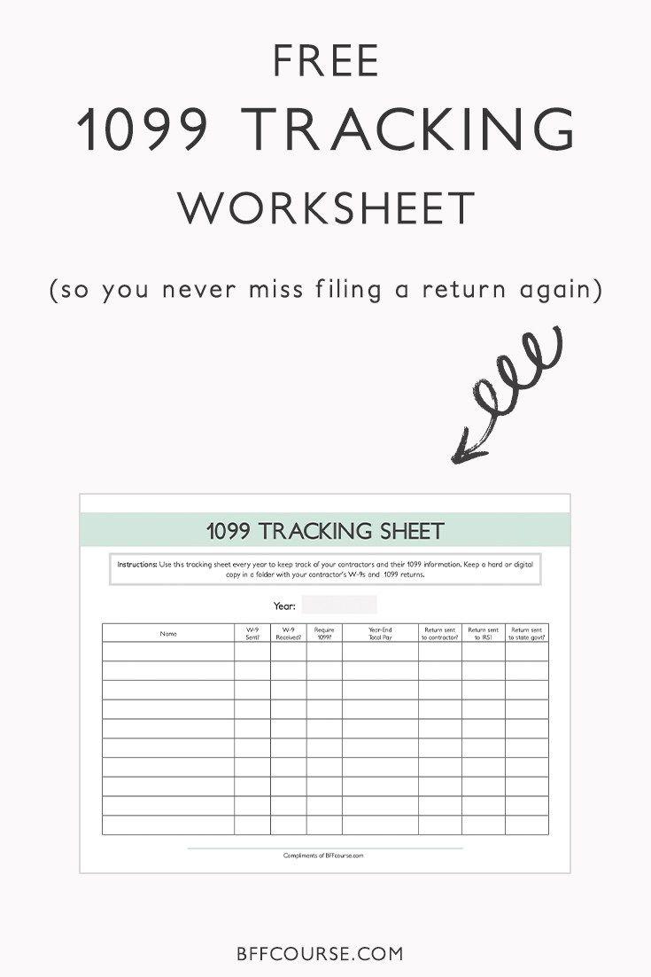 Uncategorized 1099 Worksheet best 25 1099 tax form ideas on pinterest benefits online what return contractors small business freelancer