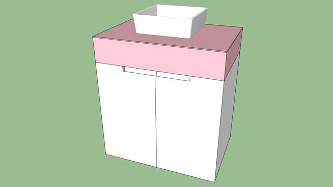 17 melhores ideias sobre Blocos Sketchup no Pinterest  Blocos de sketchup, R # Gabinete De Banheiro Sketchup