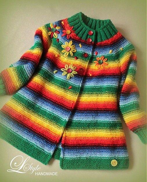 """""""VESELÝ"""" svetrík by L-Style - SAShE.sk - Handmade Detské oblečenie"""