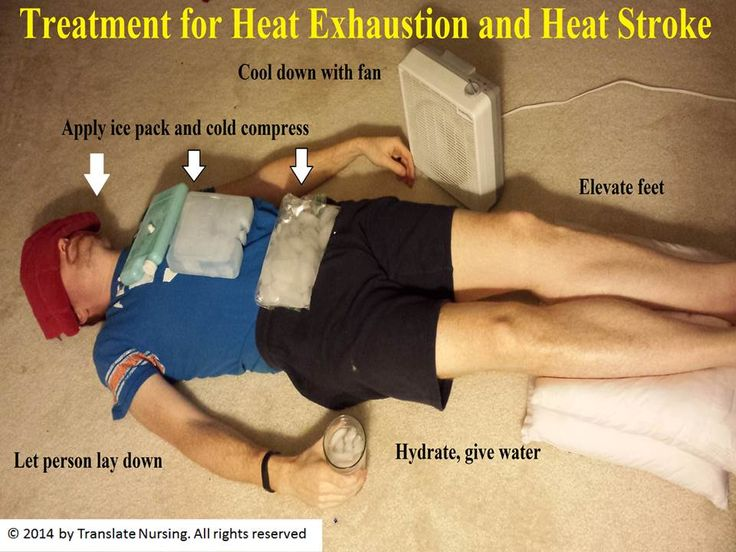 Natural Cure For Heat Exhaustion