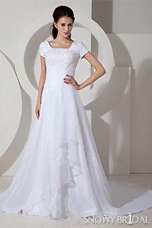 Country Wedding Dresses - W0020