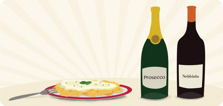 Drinks with Delivery: Italian Food ravioli