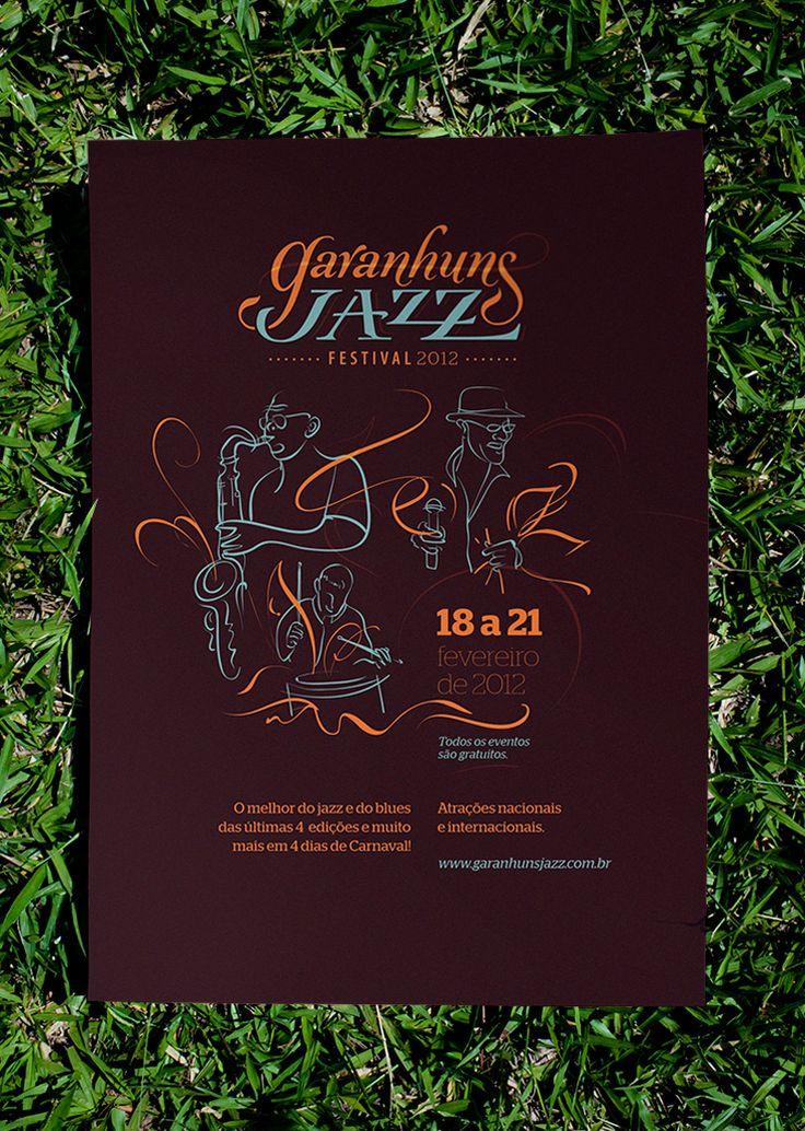 Cartaz do Garanhuns Jazz Festival