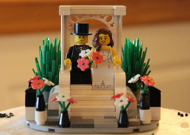 LEGO Ideas - Wedding Cake Topper                                                                                                                                                                                 More