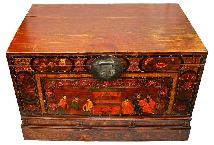 One Kings Lane - Eastward Oriented - Asian Blanket Chest