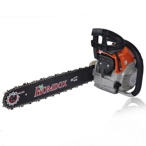 Homdox 2 Stroke 62cc 20inch Saw Blade Petrol Chainsaw Outdoor Garden Yard Use with Tool Kit