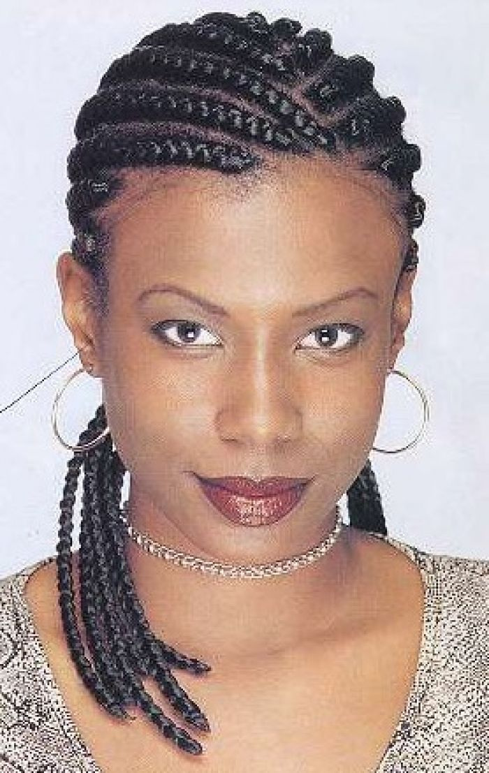 Here Are The List Of 6 Latest African Braids Hairstyles For Women With Pictures See More About Black Micro And Hair