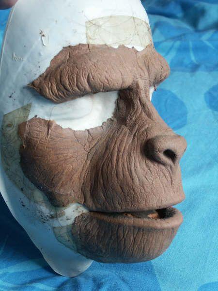 Apes Makeup Prosthetics: Galen