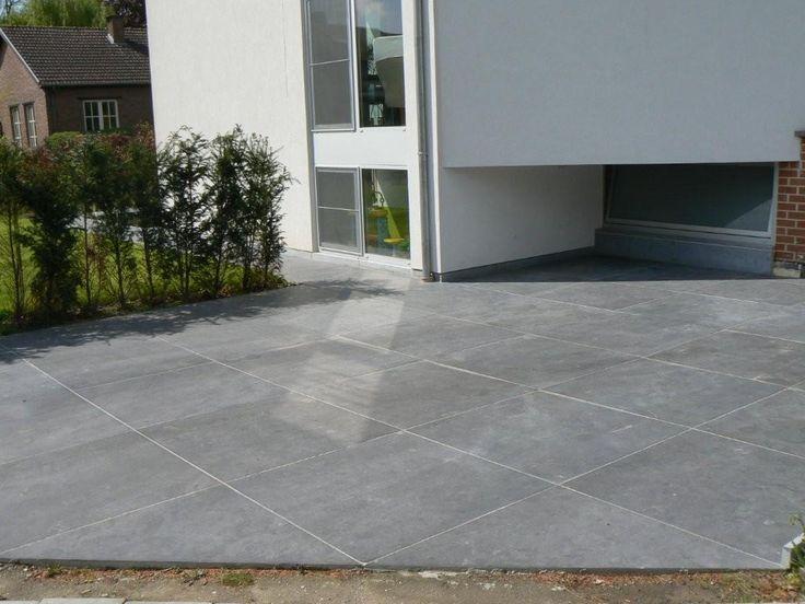 25 beste idee n over blauwe hardsteen terras op pinterest leistenen patio buxus haag en - Afbeeldingen van terrassen verwachten ...