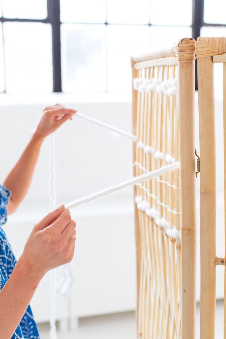 DIY Ikea Hack Woven Room Divider  | www.homeology.co.za