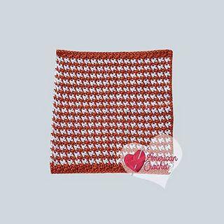 Ravelry Pumpkin Spice Washcloth Pattern By American Crochet