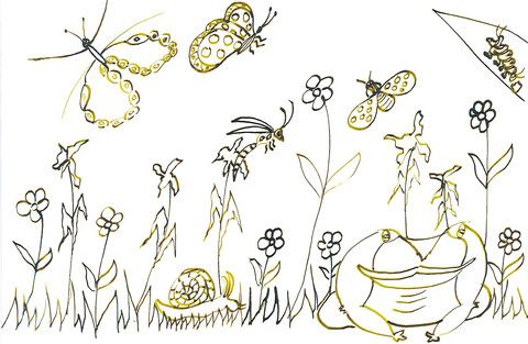 Tuinstories Inkleurboek deur Miekie