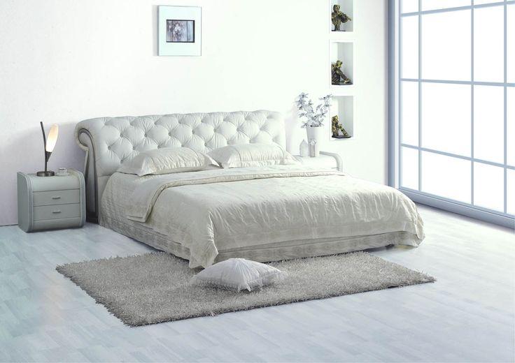 SIESTA дарит кровати для аристократов по пролетарской цене. Роскошные кровати из экокожи созданы дарить уют.  Размер: 160х200 см Цена - 884 - 1 114 BYN