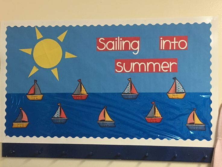 #summer #sailing #bulletin board