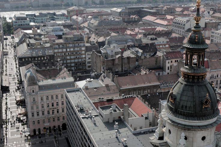 Így néz ki Budapest a bazilika szigorúan lezárt tornyából - 5. kép