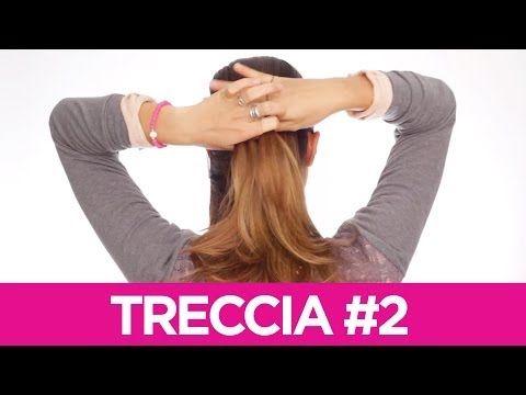 Come fare delle trecce particolari ai capelli 2   Le Acconciature fai-da-te di Elisa   Tutorial - YouTube