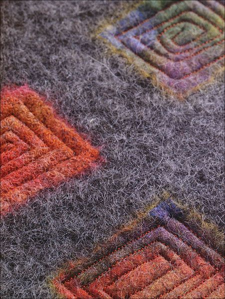 Felt Fabric Designs from KnitPicks.com Knitting by Sheila Smith