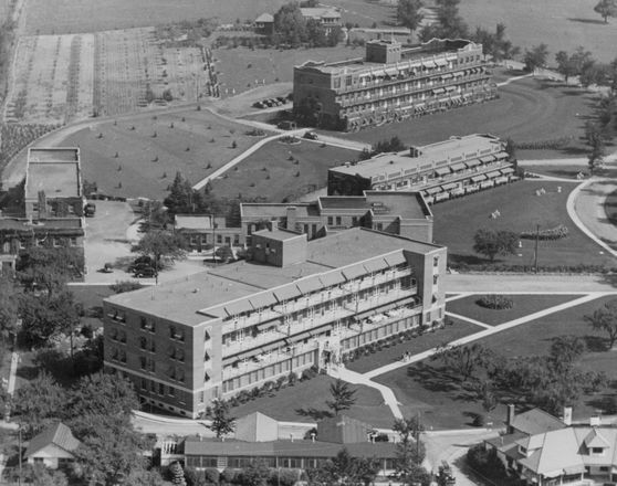 Historypin | Map | Mountain Sanitorium was founded 1906 to provide care to people from Hamilton and area who were ill with tuberculosis. Between 1958 and 1962, 1,272 Inuit were treated there for tuberculosis